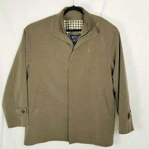 Polo Ralph Lauren Button Front Zip Up Jacket Sz XX